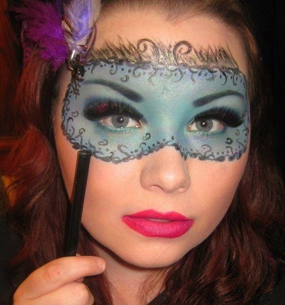 Drawn masks love Masquerade drawn masks Pinterest on