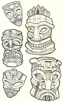 Drawn masks love Illustration mask for for Drawings
