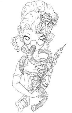 Drawn masks love Drawn Elizondo I Anime Antoinette