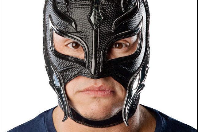 Drawn masks rey mysterio Mysterio from After After Rey