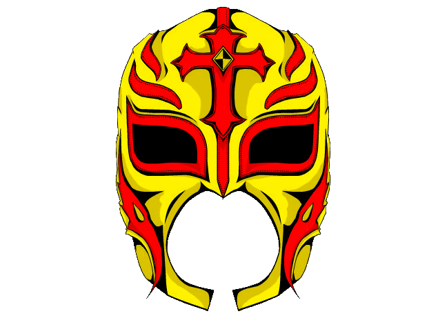 Drawn masks rey mysterio On by animation Mysterio's DeviantArt