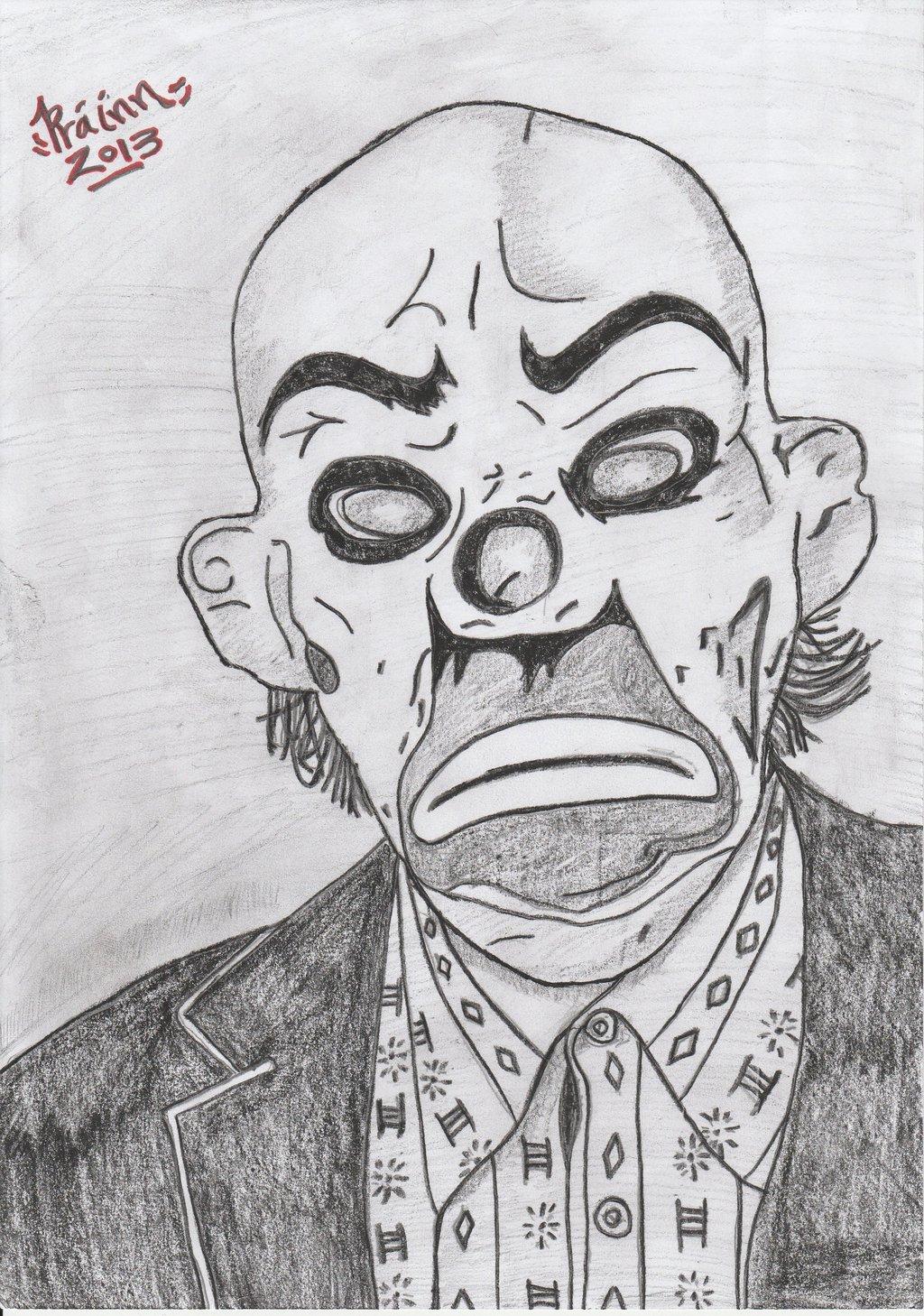 Drawn masks robber Of Mask) Batman MadMan Robber
