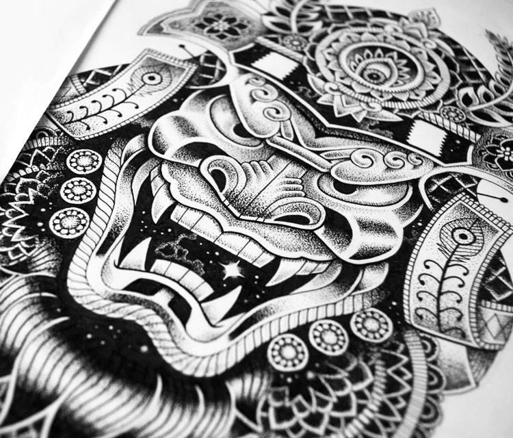 Drawn samurai pinterest Drawing marker by Studios drawing