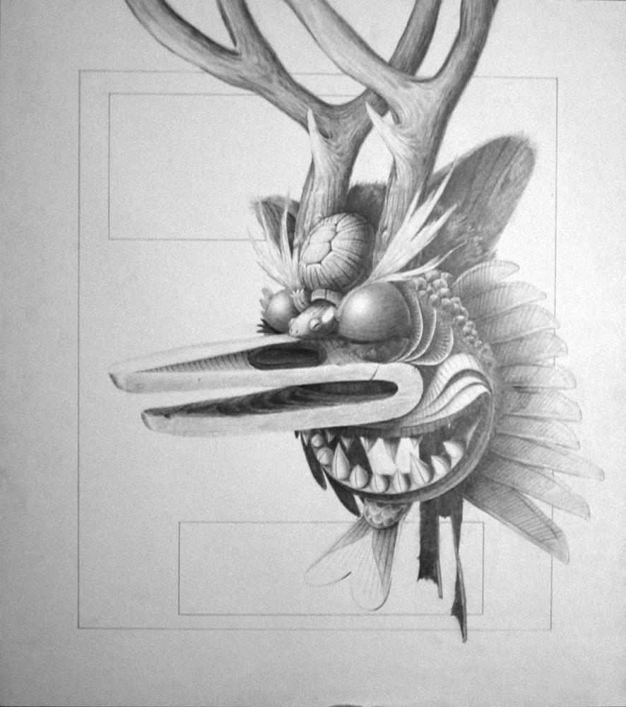 Drawn masks shaman Littlecrow Shaman Shaman by Shaman
