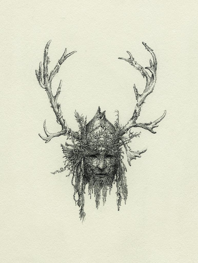 Drawn masks shaman 12 Yaroslav Shaman x 16