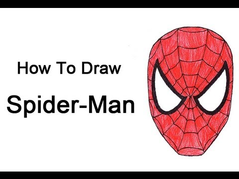 Drawn spider easy draw Draw to Spider  Man