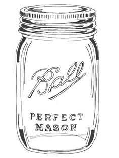 Jar clipart cute jar  Mason Best Drawing Jars
