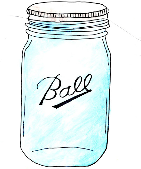 Drawn mason jar Free Graphic Sketch Pens Mason