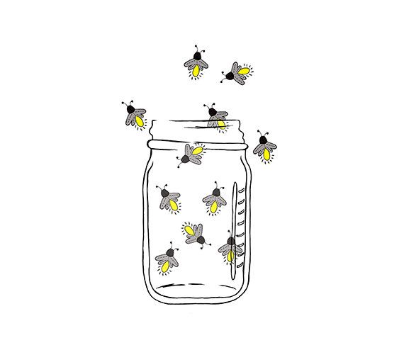 Mason Jar clipart bug jar 641Digital Lightning Fireflies Mason Image