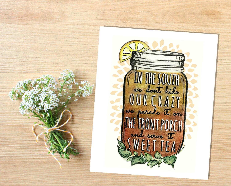 Mason Jar clipart southern Like Jar Print this Printable