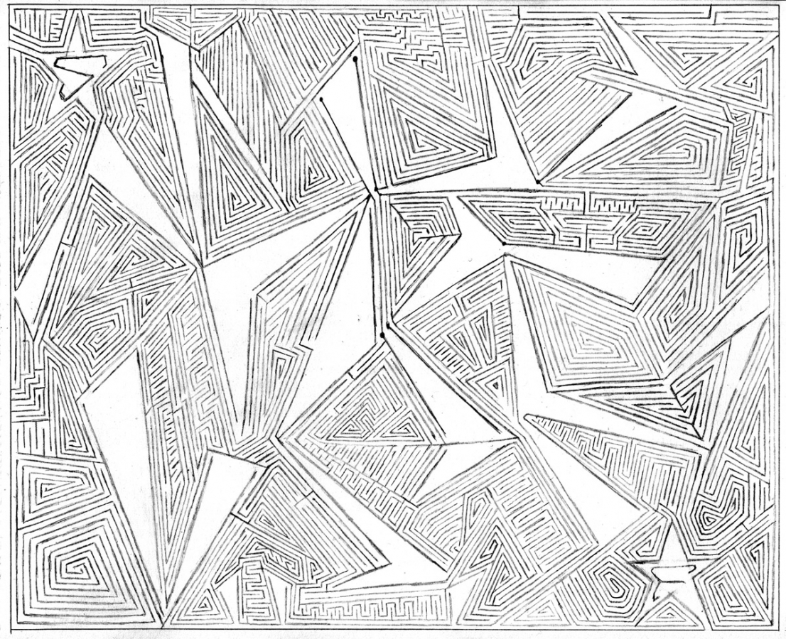 Drawn maze Mazes Apocalypse A drawn mazes