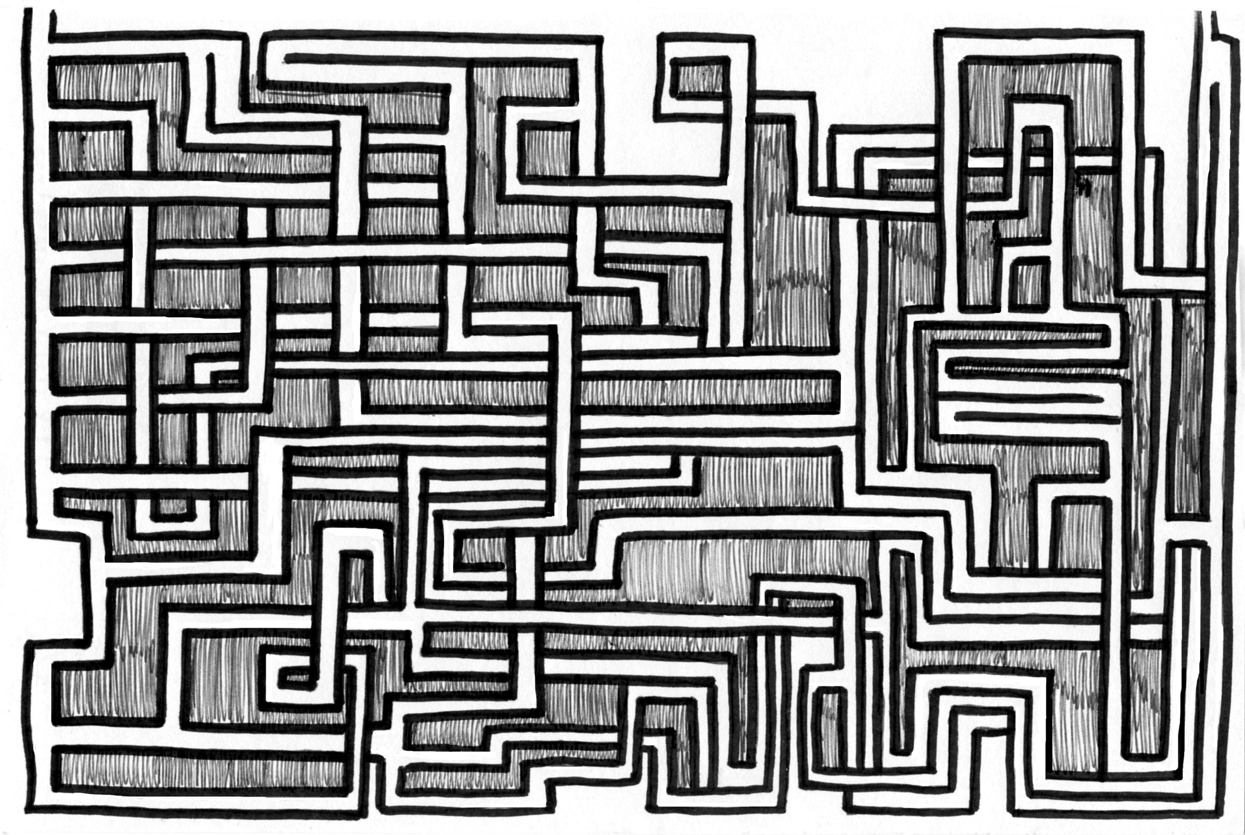 Drawn maze Is types Reflections My Day