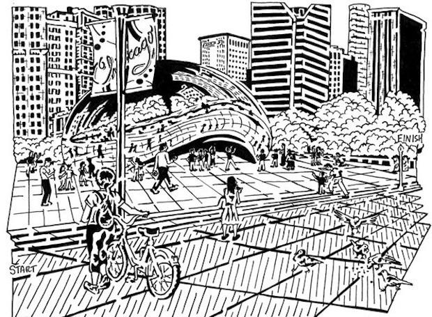 Drawn maze block CityLab Haussler Into Matthew A