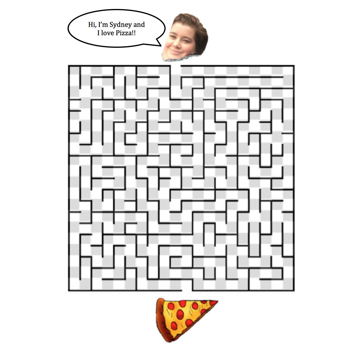 Drawn maze cereal Ds106 Make a Maze A