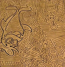Drawn maze cereal Hand The Drawn Almost Largest