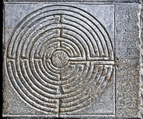 Drawn maze daedalus Maphattan Minos Daedalus search son