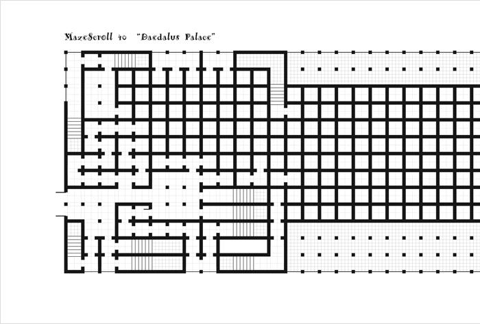 Drawn maze daedalus Scroll progress MazeScroll 40 Working