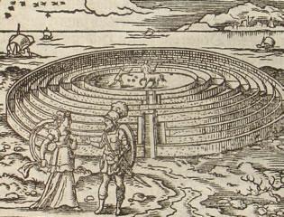 Drawn maze daedalus King's Rekindles Death in
