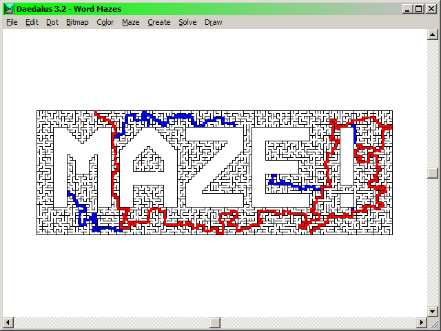 Drawn maze daedalus In of Maze shapes or