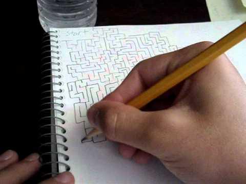 Drawn maze drawing YouTube How Draw How Maze