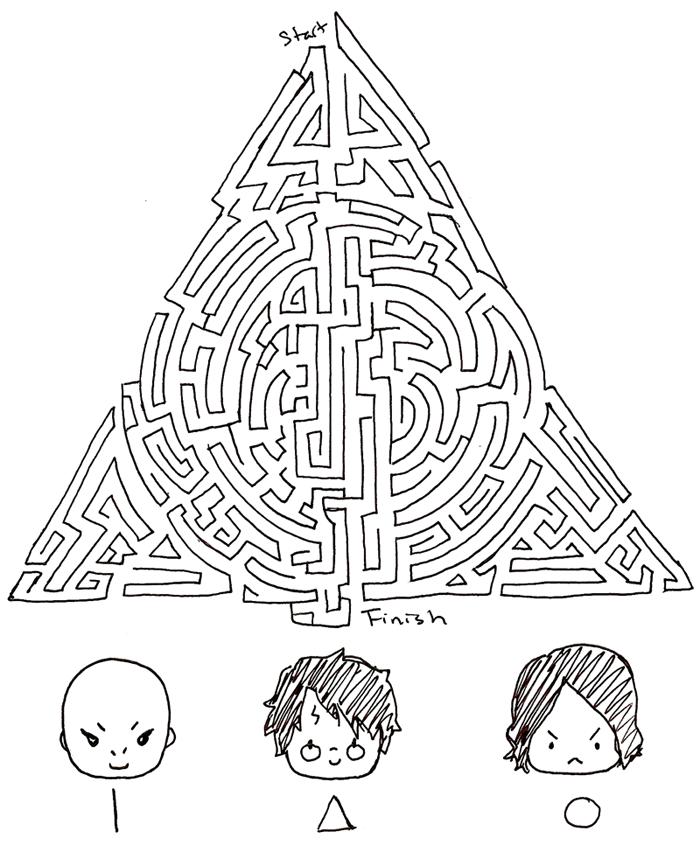 Drawn maze drawing EVA best I've best drawn