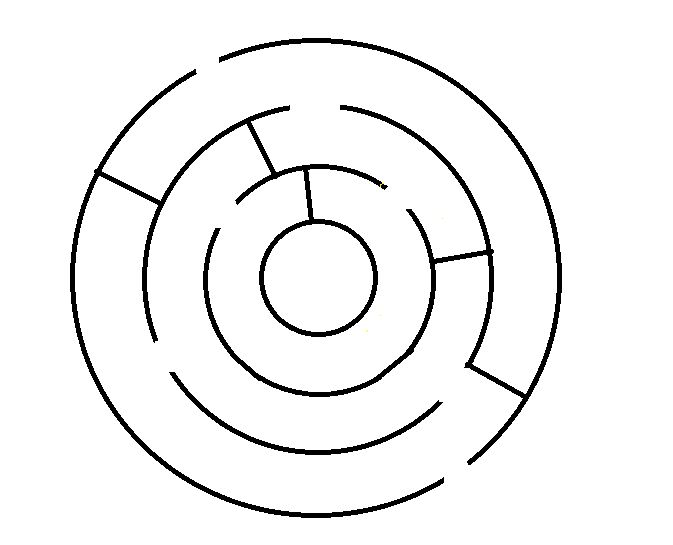 Drawn maze easy Maze: Steps and more Pictures)