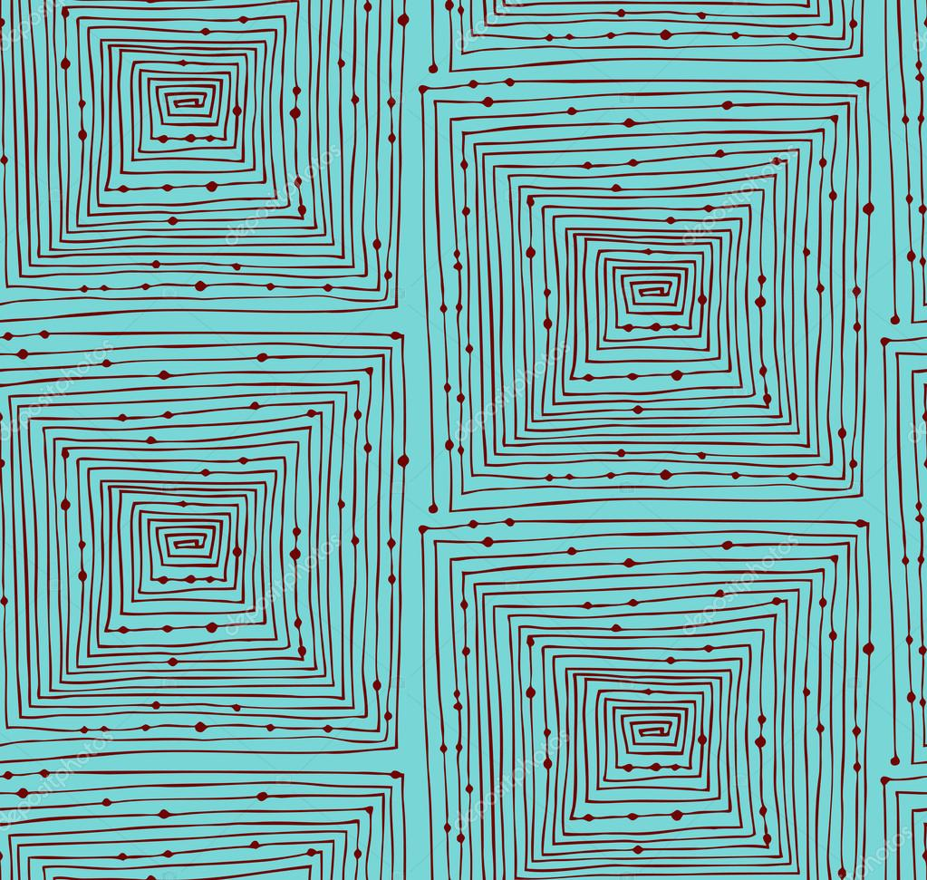 Drawn maze endless Abstract seamless background Abstract linear