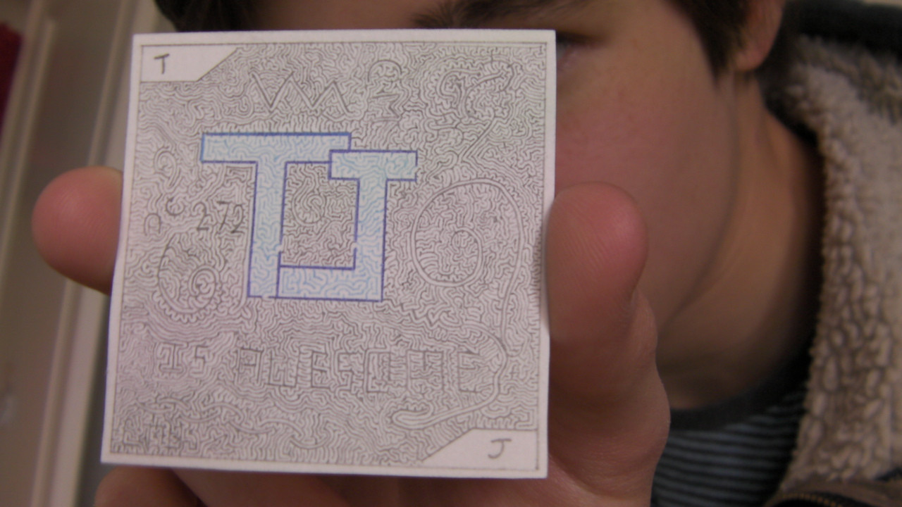 Drawn maze inception Work my made from Profile