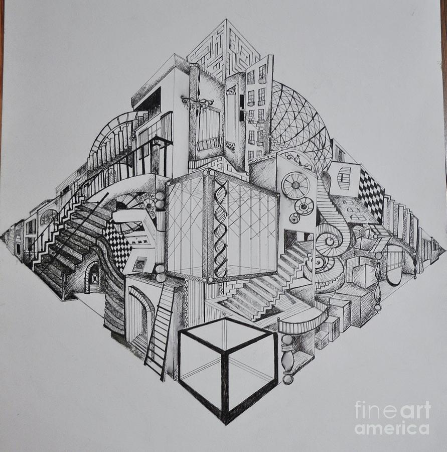 Drawn maze inception Rosario Mazes Maze Ellie Mastermind