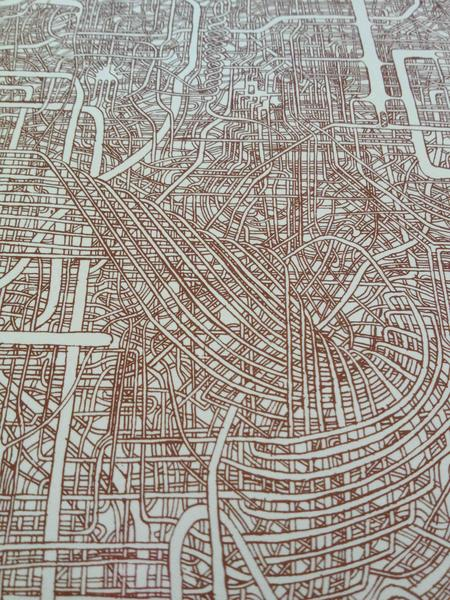 Drawn maze intricate The and ago A1 Drawing
