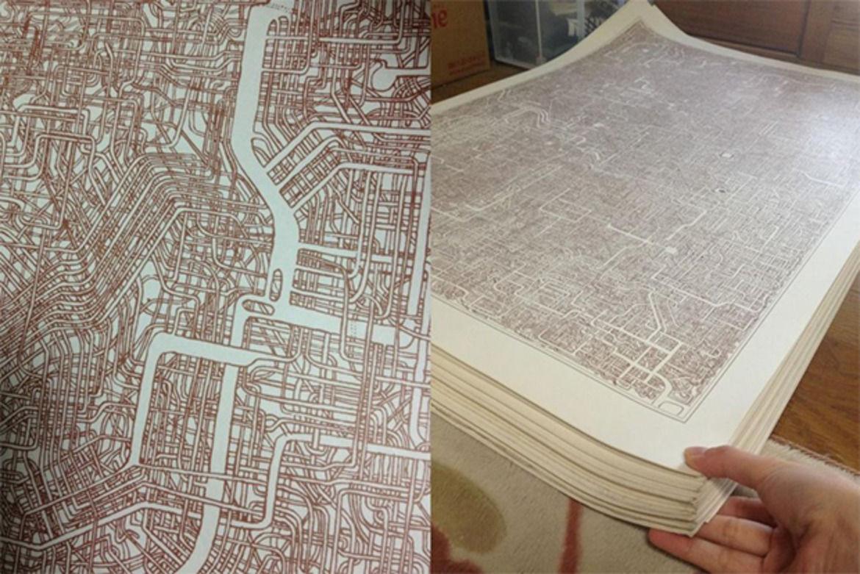 Drawn maze intricate Janitor Hunting Japanese Intricate Creates
