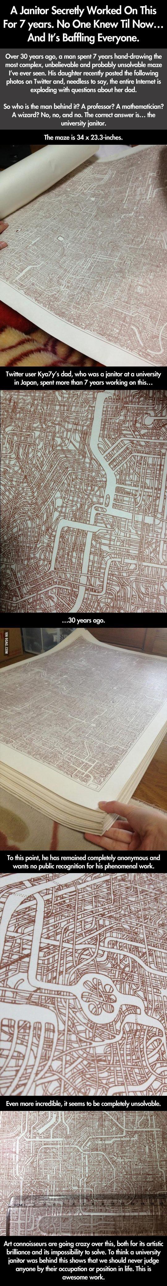 Drawn maze intricate Years Drawing Intricate 7 Maze