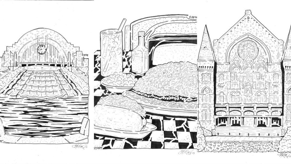 Drawn maze intricate Drawing Has Mazes Career A