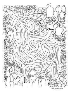 Drawn maze jesus  Pinterest more on Water