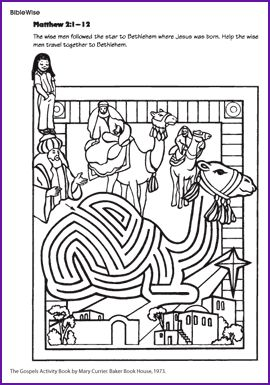 Drawn maze jesus Coloring 245 on the wise