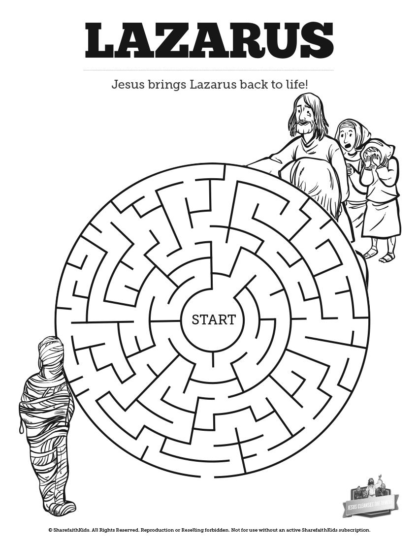 Drawn maze jesus Mazes: 8 this The Mazes: