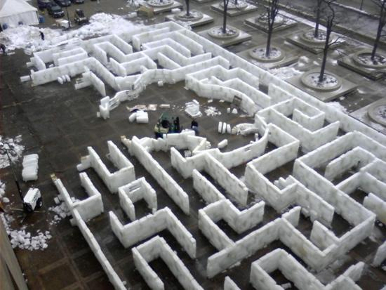Drawn maze kya7y Ice Oddities Central Collecting Oddity