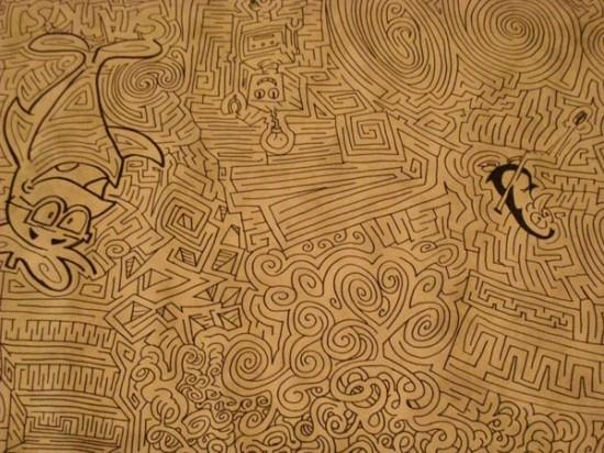 Drawn maze kya7y More Oddities Central Collecting Oddity