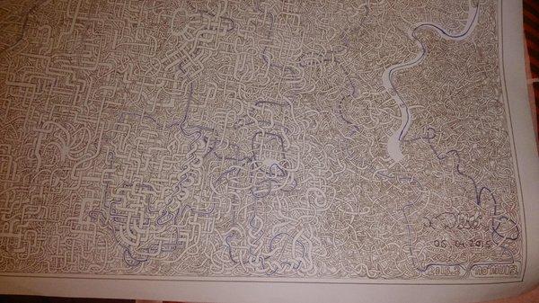 Drawn maze kya7y To Williams