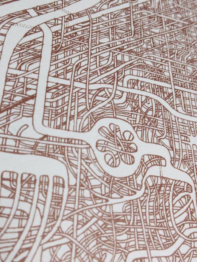 Drawn maze labyrinth Intricate Man Years Drawing maze