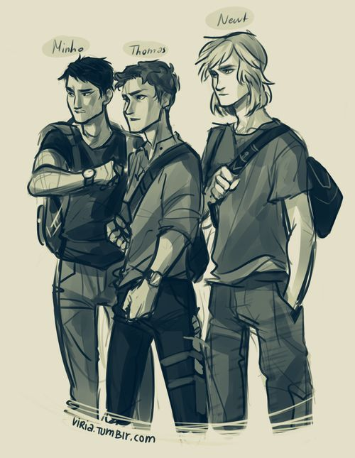 Drawn maze long Runner 25+ and I of