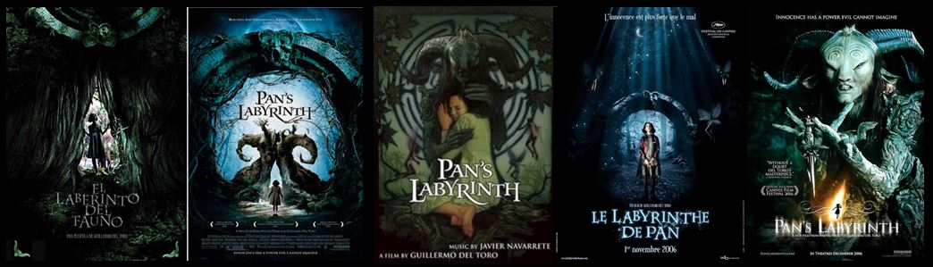 Drawn maze pan's labyrinth Decanted Movie Modern the a