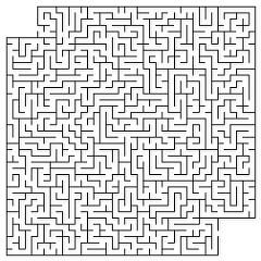 Drawn maze pencil Using Make a using you