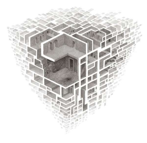 Drawn maze pencil Maze Mind Best Beehive and