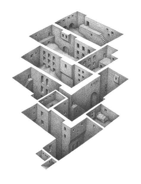 Drawn maze pencil On 167 moreWhatEverIlike Pinterest Maze