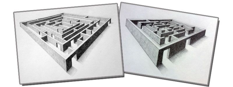 Drawn 3d art perspective A Modern How Draw in