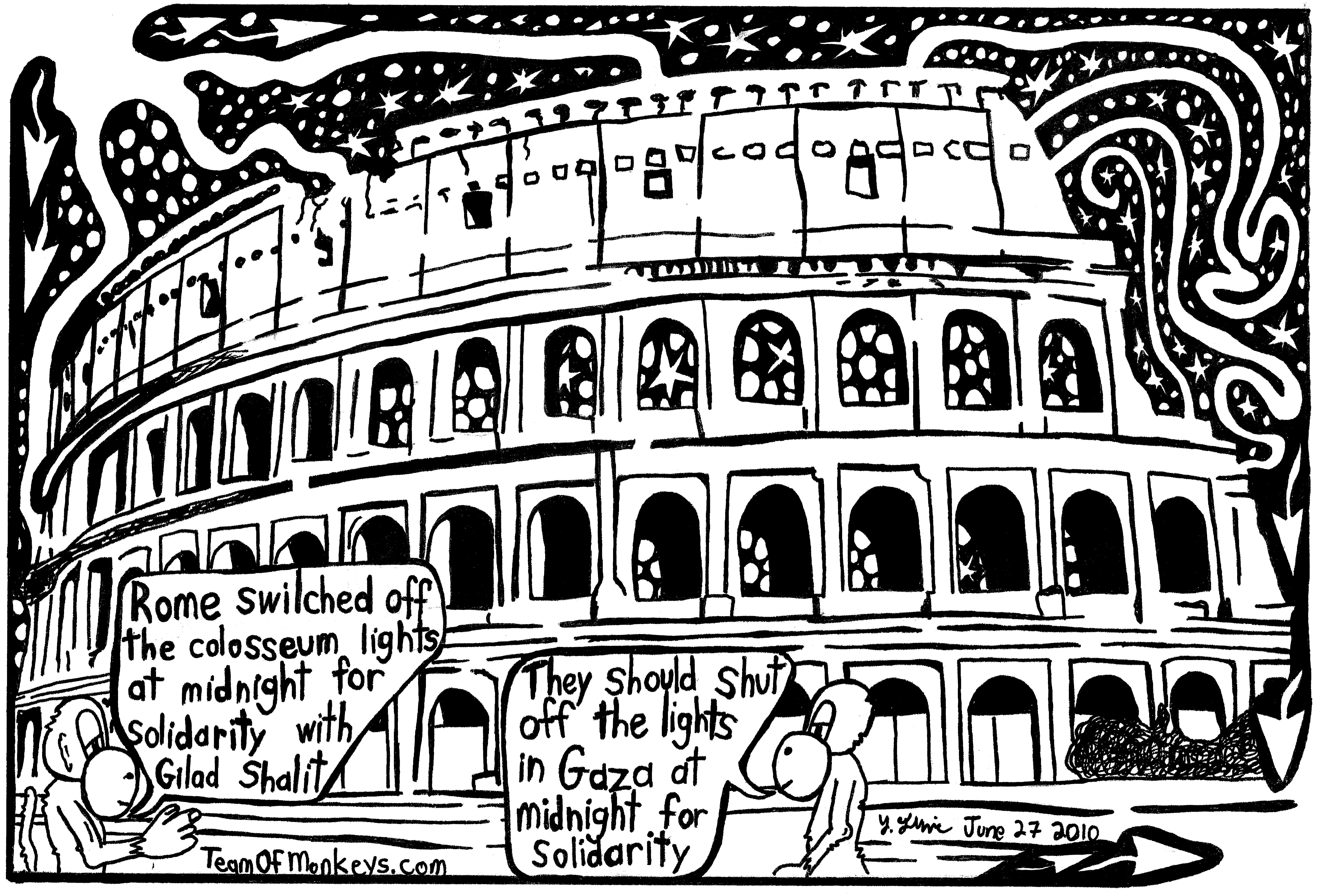 Drawn maze roman The Editorial at colosseum Maze
