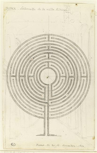 Drawn maze roman The A Turtle's An from