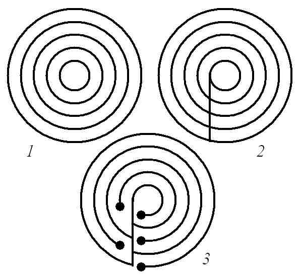 Drawn maze spiral Mathrecreation: Mazes Labyrinth labyrinths images