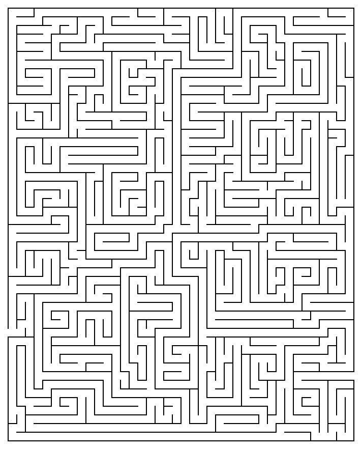 Drawn maze tricky 20 best Maze Maze Maze